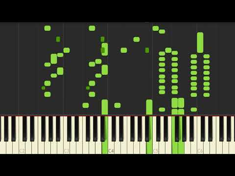 Jelly Roll Morton   Black Bottom Stomp //Piano Tutorial For Synthesia