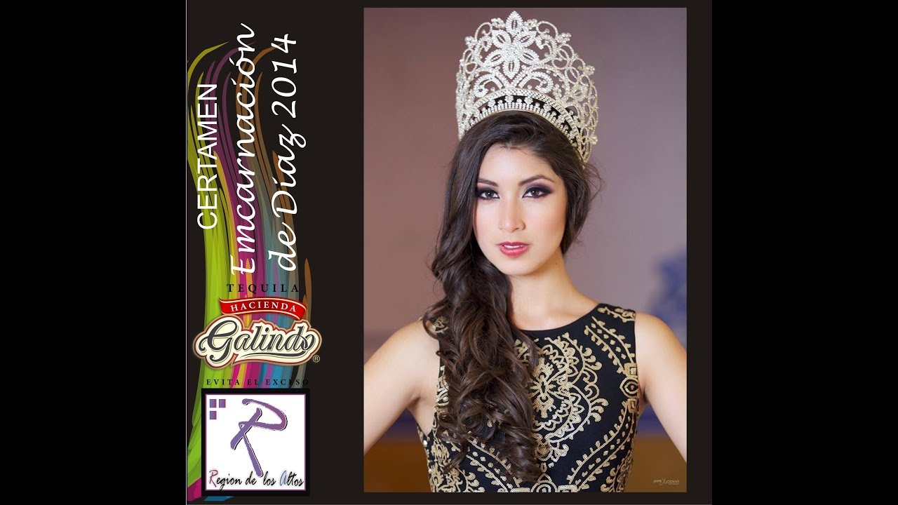 Certamen encarnacion de diaz 2014 candidatas 25 de enero for V encarnacion salon