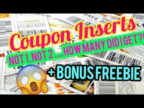 NEW COUPON INSERTS PREVIEW | INCLUDED FREE PRODUCT COUPONS | FRUGAL Living