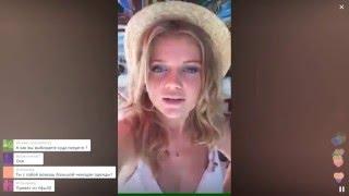 Мария готова сняться в клипе у Britney Spears / Перископ Иваковой 2016 на TopPeriscope.Ru