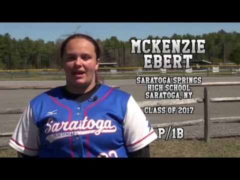 McKenzie Ebert - Saratoga High School Softball