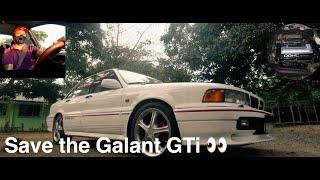 Mitsubishi Galant GTI 1992 ECQ Driving