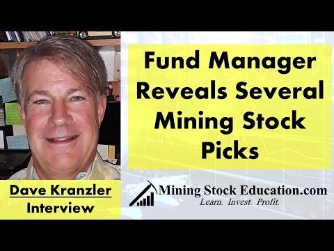 Fund Manager Dave Kranzler Reveals Several Mining Stock Picks