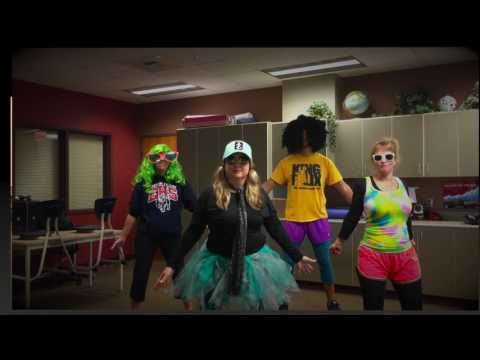 2016 Ellensburg High School Homecoming Staff Video - Fitness Parody