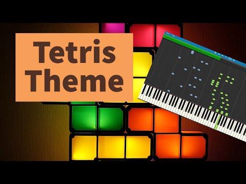 Tetris Theme Piano Arrangement (Synthesia)