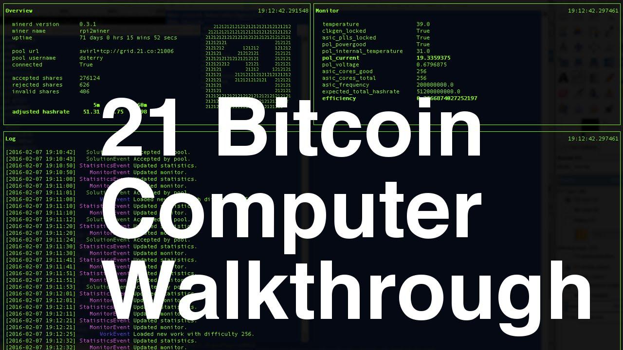 21 computer bitcoin