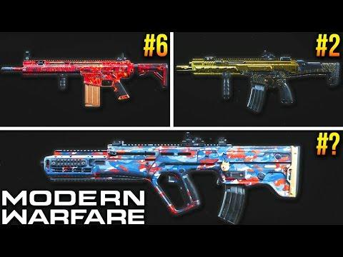 Modern Warfare: Every Assault Rifle RANKED (Best Class Setups)