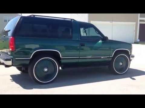 Rare 1998 Chevrolet 2 Door Tahoe 4x4 Lifted Z71 Custom Upcomingcarshq Com