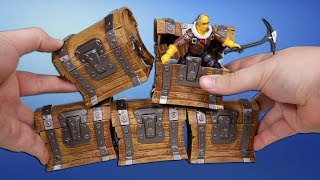 Opening 5 Fortnite Mystery Mini Surprise Loot Chests!