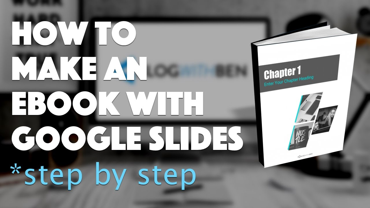 How to Make an eBook with Google Slides - FREE Template - YouTube