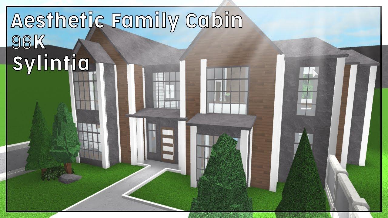 Bloxburg Aesthetic Family Home Slubne Suknie Info