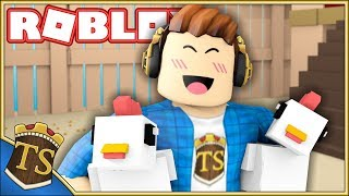 CHICKENS ARE THE BEST BUY EVER! -Magnet Simulator-Ep 2 | Danish Roblox