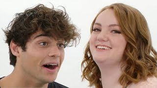 Noah Centineo & Shannon Purser Compete in Adorable Compliment Battle