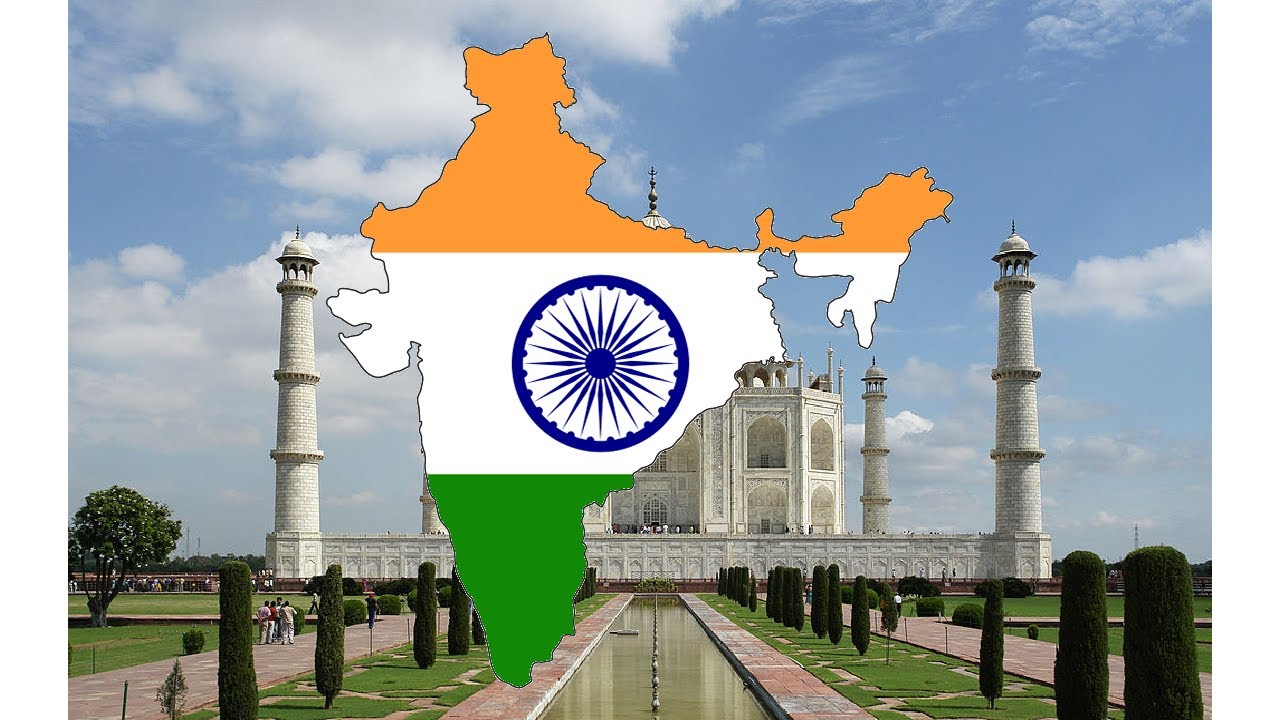 India Flag Map: Creating A Flag Map Of India