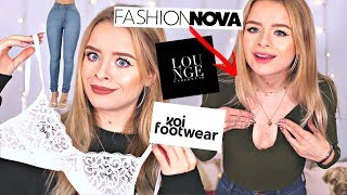 TESTING HEAVILY SPONSORED PRODUCTS.. UNSPONSORED 😂 (TRY ON)   sophdoesnails