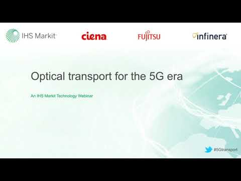 Optical Transport For The 5G Era