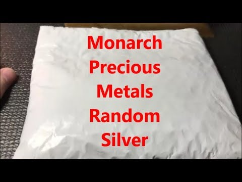 Monarch Precious Metals Random Silver Order