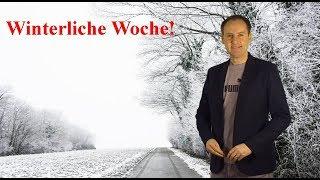 Bis  minus 20 Grad: Deutschland steht vor einer winterlichen Wetter-Woche! (Mod.: Dominik Jung)