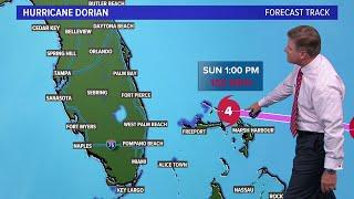 When will Hurricane Dorian hit Florida?