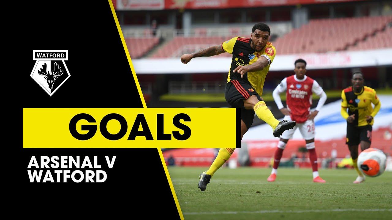 Арсенал  3-2  Уотфорд видео