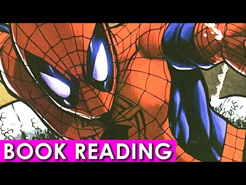 Amazing Spiderman Clash with the Rhino Read Aloud Book Reading