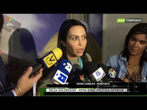 Venezuela - Diputada Solorzano ofrece detalles sobre la liberación de 17 estudiantes - VPItv