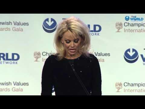 Pamela Anderson's speech - Gala 2016