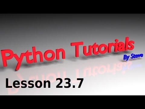 Python Tutorial v3.2.5 Lesson 23.7 - Random Items from a List