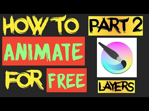 How To Animate For Free With KRITA (FREE SOFTWARE)  FOR BEGINNERS  PART 2- BASICS OF LAYERS 