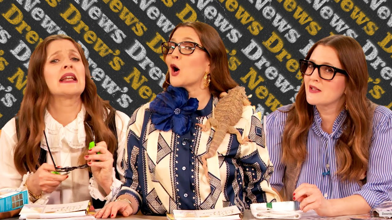 Drew Barrymore's Best Drew's News Opening One-Liners