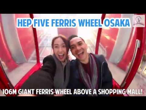 106m Giant Ferris Wheel Above Osaka Shopping Mall!
