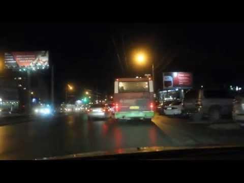 Пешеходы - смертники. Фрагмент из видео отчёта. (Barnaul 22)