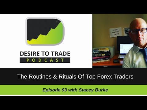 093: The Routines & Rituals Of Top Forex Traders (@DrStaceyBurke) | Special Trader Interview