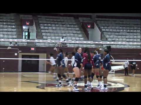 NCCU Volleyball Highlights Vs. SC State (Sept. 29, 2019)