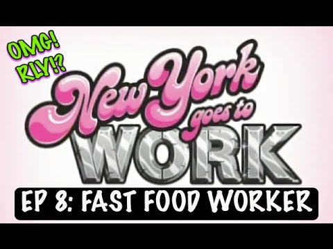 Fast Food Worker | New York Goes To Work | Episode 8 | OMG!RLY!?