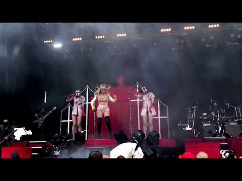 In This Moment performing Black Widow at Carolina Rebellion on 5/6/2017 2pm