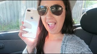 UNBOXING MY NEW IPHONE 8+