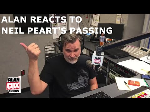 Alan Reacts to Neil Peart's Passing