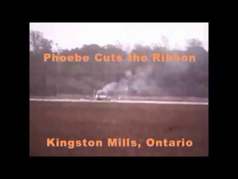 Phoebe cuts the ribbon at Ki Mills 1982 title and credit july 29 2017