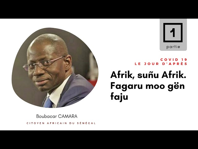 Message de Boubacar Camara