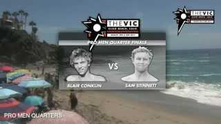 The VIC 2015 Heats on Demand - Pro Men Quarter Heat Z