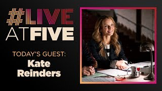 Broadway.com #LiveatFive with Kate Reinders of HIGH SCHOOL MUSICAL: THE MUSICAL: THE SERIES