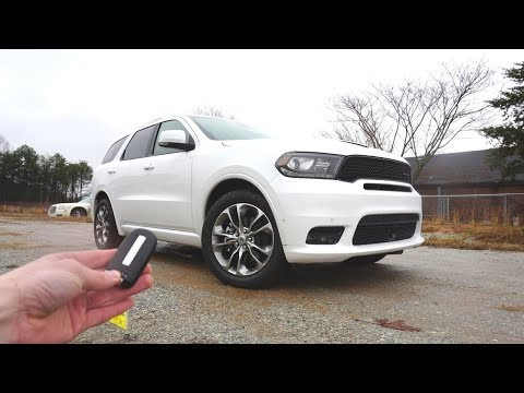 2019 Dodge Durango R/T: Start Up, Exhaust, Walkaround And Review