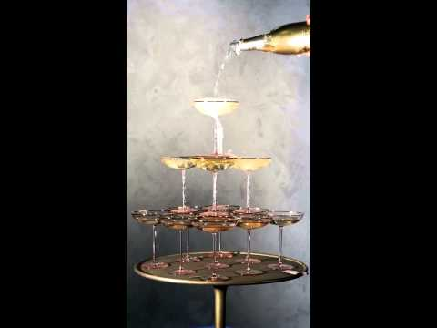 Celebrate the New Year with our sparkling champagne tower | Anthropologie