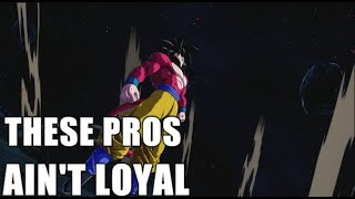 THESE PROS AIN'T LOYAL - Why is it so hard to settle on a team in DBFZ?