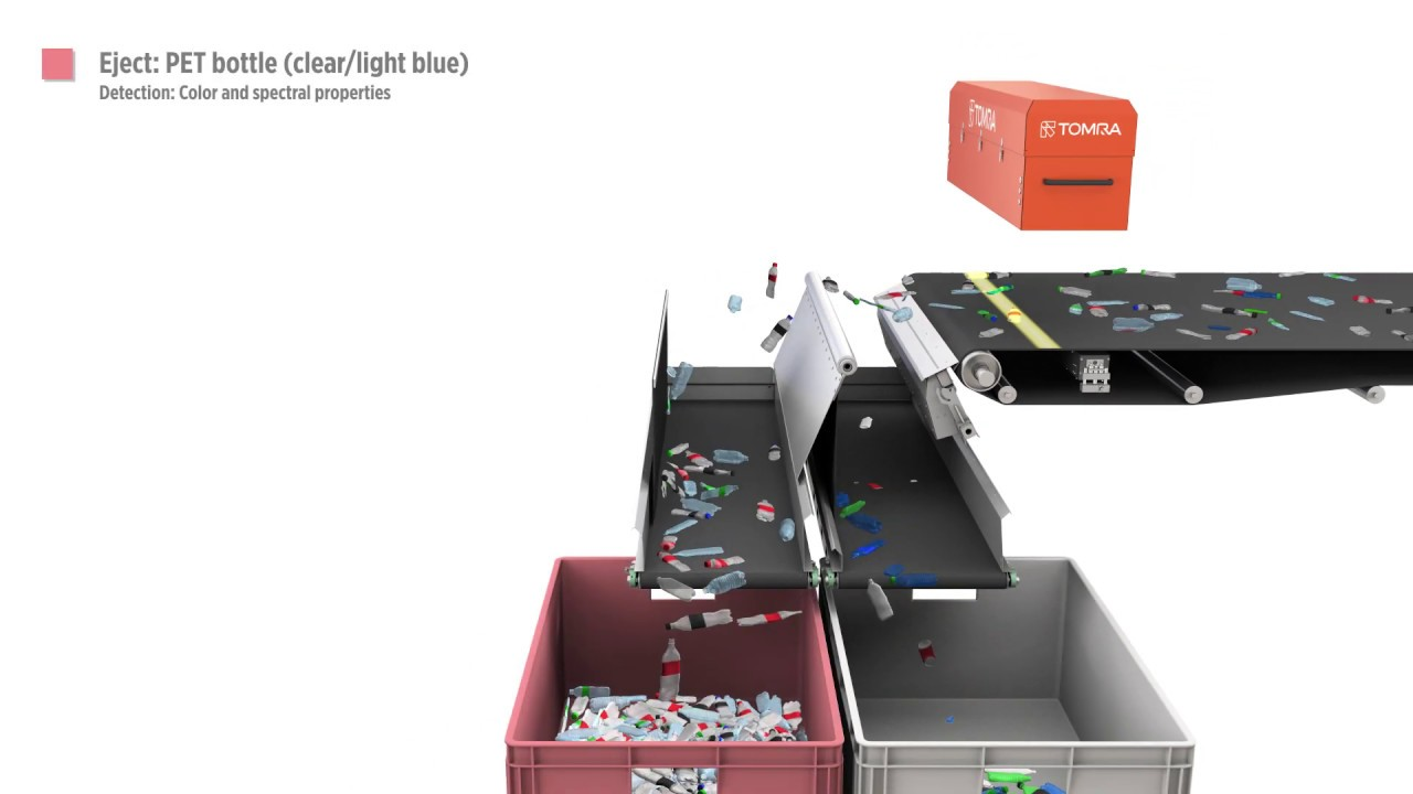 hight resolution of tomra optical sorting recycling equipment autosort 4 nir technology