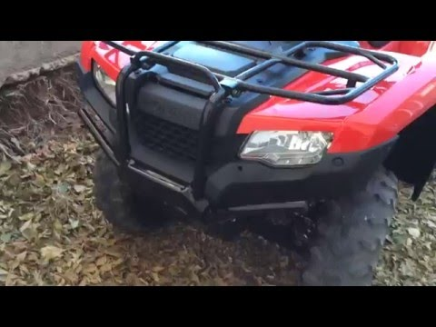 Vid #1 '16 Honda Rancher 4x4 DCT EPS - Brand new! Show and tell.