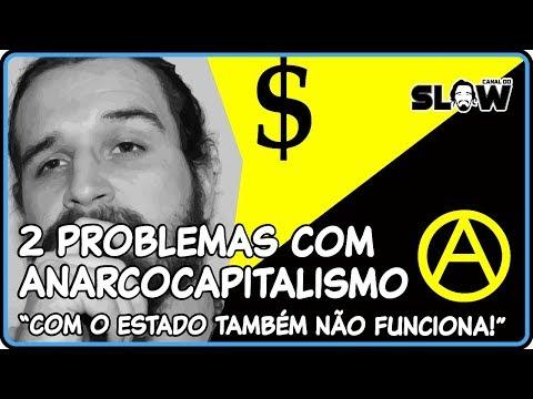 2 PROBLEMAS COM O ANARCOCAPITALISMO!   Canal do Slow 49