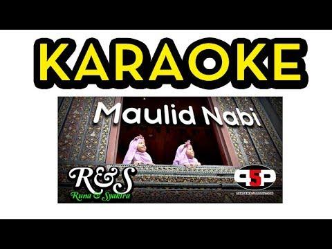 KARAOKE Runa & Syakira - MAULID NABI