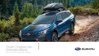 homepage tile video photo for 2022 Outback Accessory Highlights